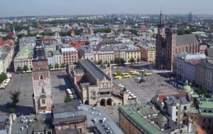 filmowanie dronem po Krakowie