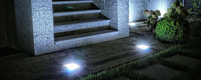 Kostka brukowa Led nowoczesne oświetlenie twojego podjazdu, chodnika i ogrodu.